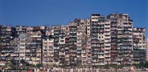 The real Walled City. Kowloon, Hong Kong