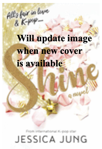 Book cover with the title Shine and the words will update image when new cover is available