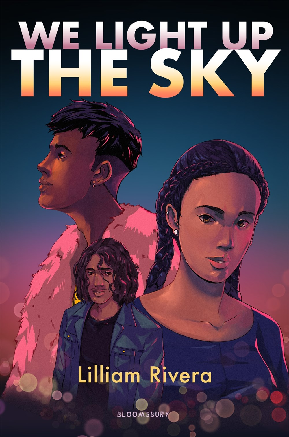 Three young people are featured on this book cover