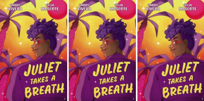 juliet takes a breath graphic novel